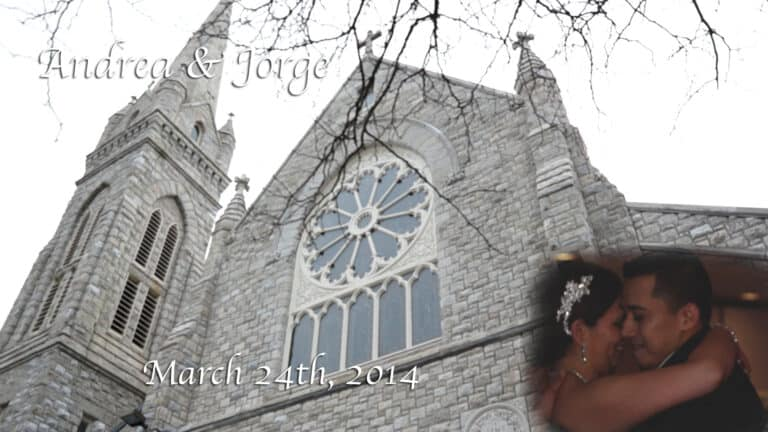 Andrea and Jorges Hudson Valley Wedding Video at Beckwith Pointe in New Rochelle New York