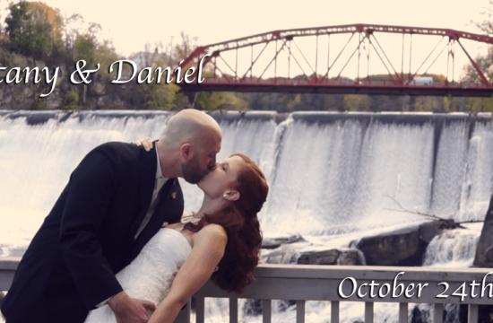 Dan & Brittany's Hudson Valley Wedding Video at Diamond Mils in Saugerties, New York