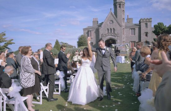 Danielle & Ryans Hudson Valley Wedding Video at Whitby Castle