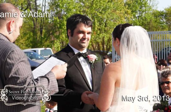 Jamie and Adams New Jersey Wedding Video at Bogey's Country Club and Cafe in Sewell New Jersey