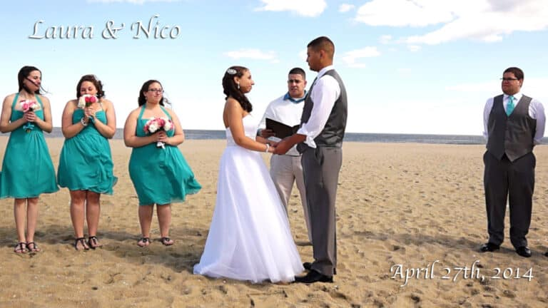 Laura & Nicos New Jersey Wedding Video at Doolans Shore Club