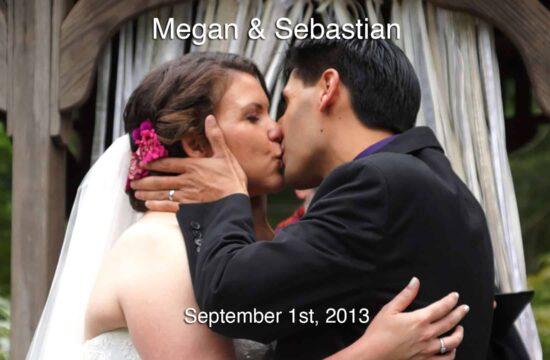 Megan and Sebastians Long Island Wedding Video at The Bates House in Setauket Long Island New York
