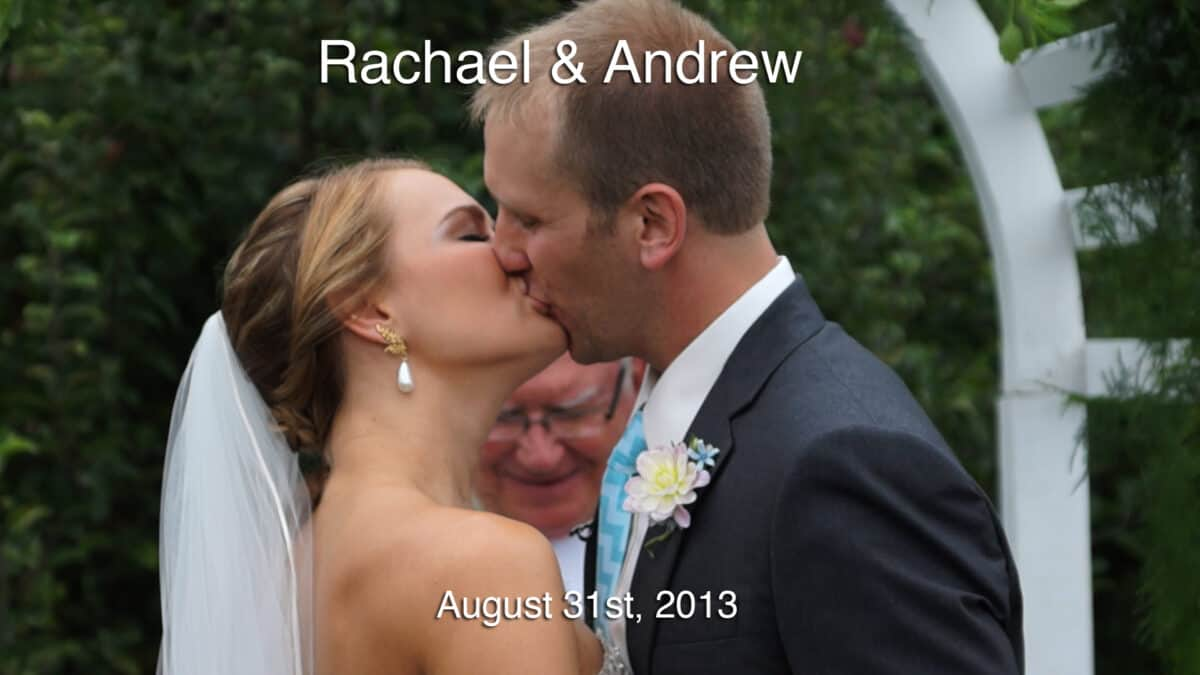 Rachael and Andrews New Hampshire Wedding Video at Quonquont Farm