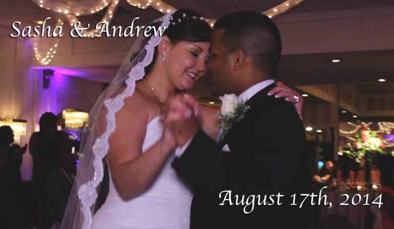 Sasha and Andrews New Jersey Wedding Video at Bethwood Manor in Totowa New Jersey