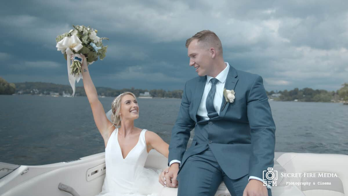Julie and Alexs Hudson Valley Wedding Video on Lake Mahopac
