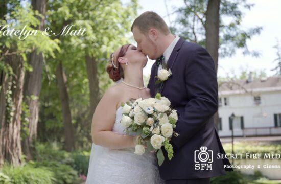 Katelyn and Matts Hudson Valley Wedding Video at Le Chambord