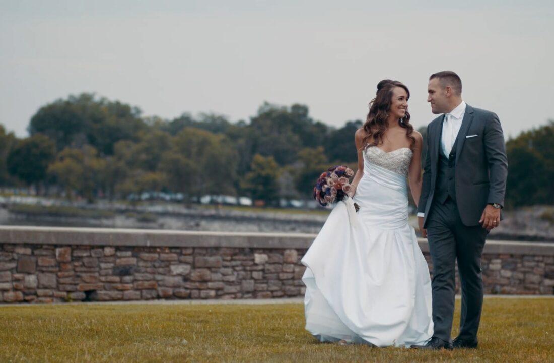 Christine and Nicks Glen Island Harbor Club Wedding Video in the Hudson Valley