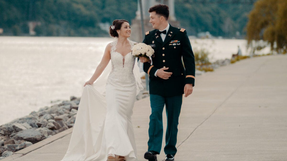 Sam and Brians The Grandview Wedding Cinematography in the Hudson Valley