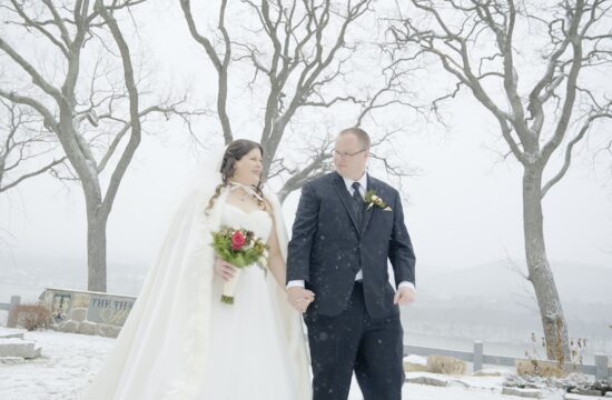 Lisa and Tims Thayer Hotel Wedding Videography at their Hudson Valley Wedding