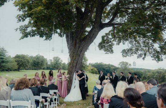 Audrey and Jefferys Mahopac Golf and Beach Club Wedding Video