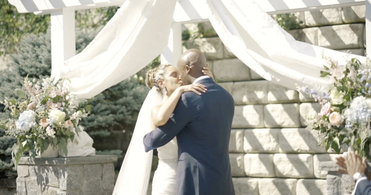 Lyza and Jamaals Anthonys Pier 9 Wedding Video in the Hudson Valley