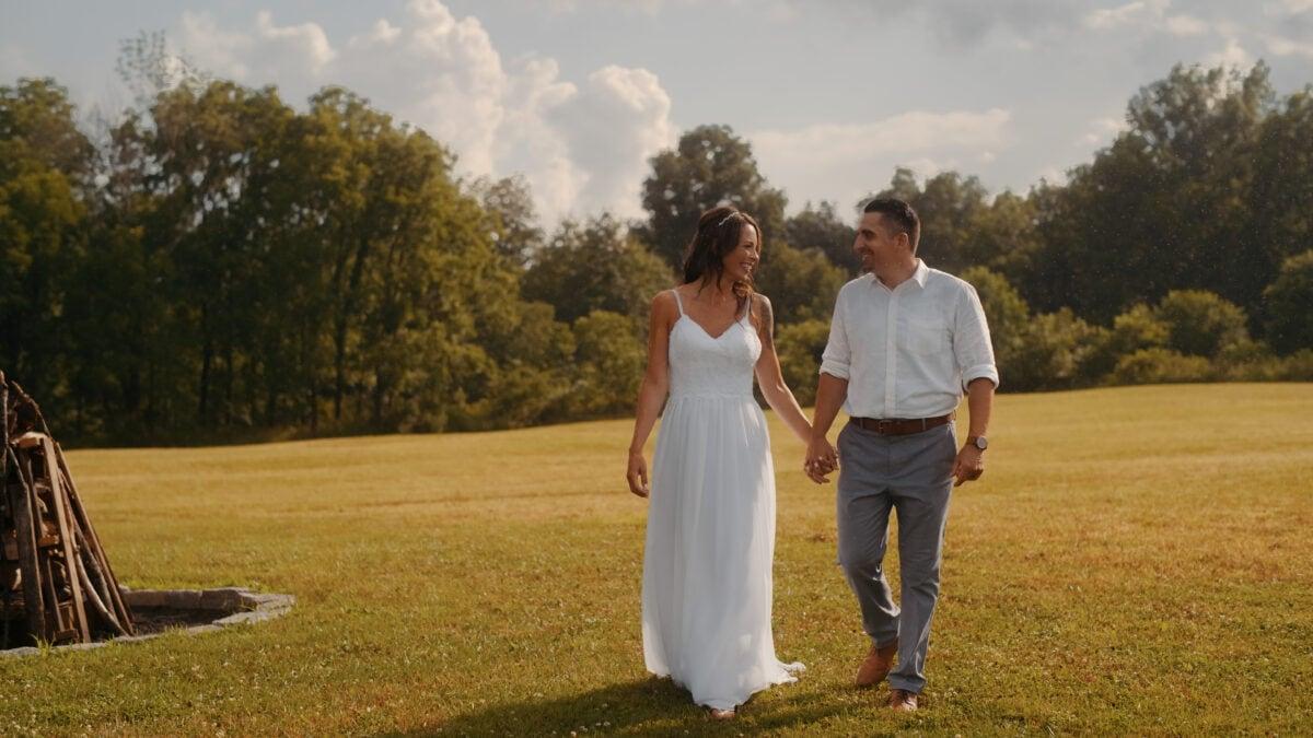 Stacy and Michaels Lippincott Manor Micro Wedding Video at Lippincott Manor
