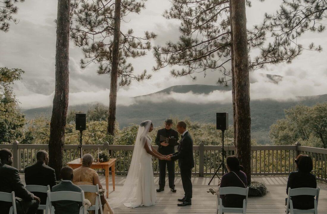 Charlene and Edwards Onteora Mountain House Wedding Cinema in the Hudson Valley