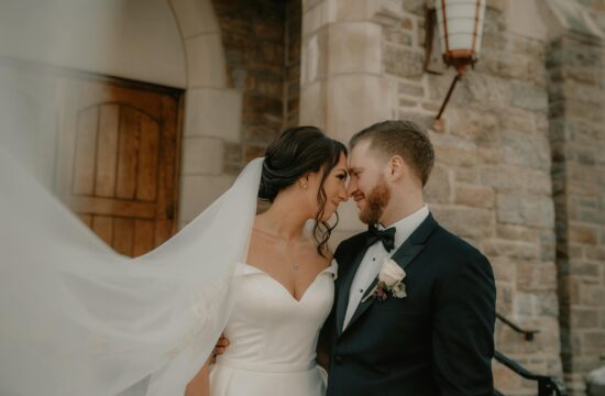 Jenna and Joes Hudson Valley Micro Wedding at the Annunciation Church in Yonkers New York